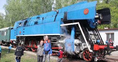 Lužná u Rakovníka – železniční muzeum ČD