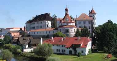 Jindřichův Hradec – komplex renesančního zámku a gotického hradu