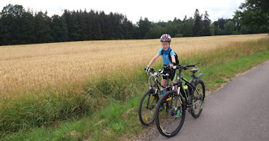 Cyklo: Dolní Skrýchov, Radouně – okruh