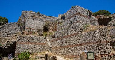 Itálie, Capri – Villa Jovis
