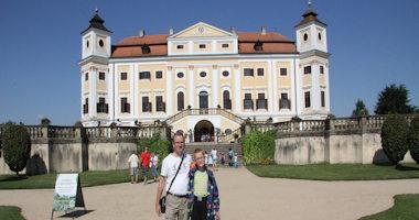 Milotice – barokně přestavěný renesanční zámek