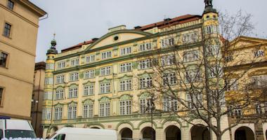 Praha – Smiřický palác, parlament ČR