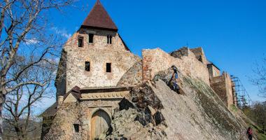 Točník – královský gotický hrad
