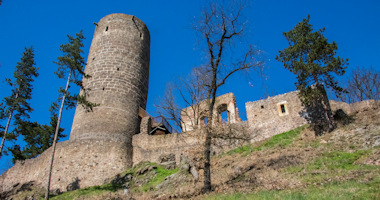 Žebrák – zřícenina gotického hradu