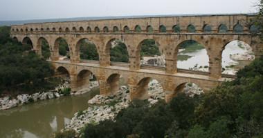 Francie, Provence – Pont du Gard