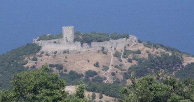 Řecko, Pierie – hrad Platamon (Πλαταμώνα)