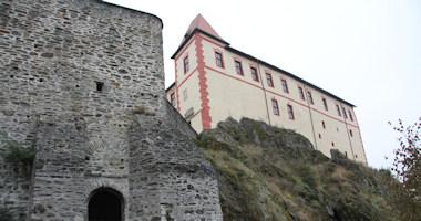 Kámen – romanticky přestavěný gotický hrad