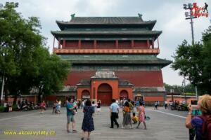 Čína, Peking - Bubnová a Zvonová věž