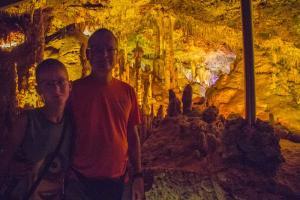 Španělsko (Mallorca) - Jeskyně Hams