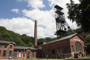 Ostrava, Petřkovice - hornické muzeum Landek, Důl Anselm
