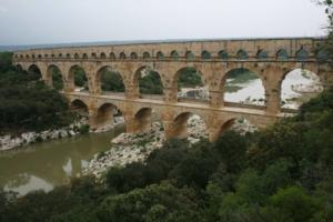 Francie, Provence - Pont du Gard