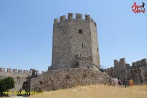 Řecko, Pierie - hrad Platamon