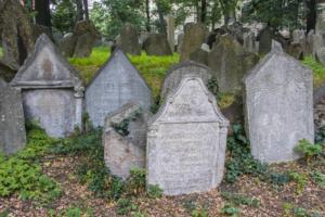Praha - Starý židovský hřbitov