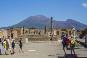 Itálie - Vesuv